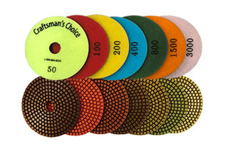 3-Inch Craftsman's Choice Polishing Pads