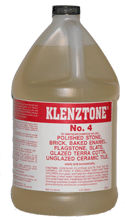 K&E Klenztone #4 Cleaner for Polished Stones, Gallon