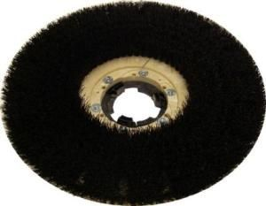 """Bassine Scrub Brush with Tru-Fit Clutch Plate 17"""""""