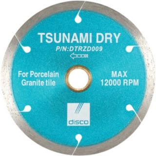 "Disco Tsunami Dry Continuous Rim Blade 7"" DTRZD010"