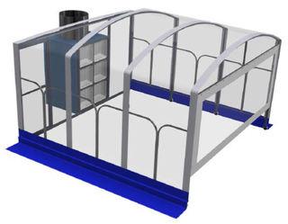 Duroair Retractable Dust Enclosure 10HP 480V 3 Phase