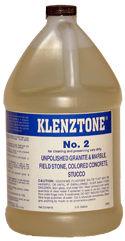 K&E Klenztone #2 Cleaner for Granite, Marble, Gallon