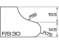ADI UHS Profile FS 3cm 120 Series CNC Profile Wheels