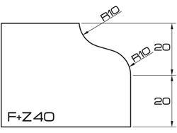 ADI UHS Profile FZ 4cm 120 Series CNC Profile Wheels
