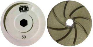 Diarex ICE Hybrid Combo Wheel, 200 Grit 130mm Diameter Snail Lock