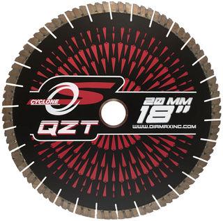 "Cyclone QZT Quartzite Bridge Saw Blade 18"" 50/60mm"