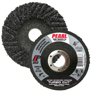 "4-1/2"" x 7/8"" Pearl SC Turbo Cut Hard Back Discs"