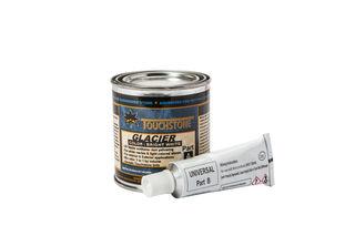 Touchstone Glacier Bright White Pint Kit, 1/2 Pint, 7 Tubes B