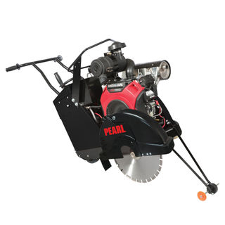 "PA2022SSP CONCRETE SAW SELF 13 HP HONDA W/18"" BLADE GUARD"