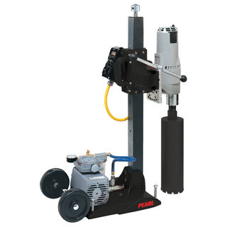 PACRV94 CORE DRILL RIG WITH VAC BASE MIWK 4094 SHEAR PIN