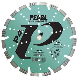 PEARL LW1412CMB 14X.125X1 ASP/GRN - CONCRETE COMBO BLADE