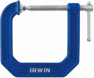 "Irwin 3"" DEEP THROAT  (4.5) C CLAMP IRWIN 1300 LBS"