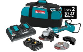 "Makita Brushless Cut-Off Angle Grinder Kit 7"" XAG12PT1"