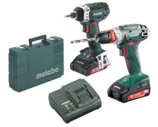 Metabo BS18Q 18Volt Impact Drill Driver Combo