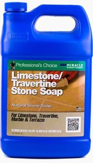 Miracle Sealants Limestone & Travertine Soap, Gallon