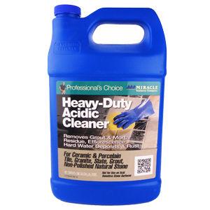 Miracle Sealants Heavy Duty Acidic Cleaner, Gallon