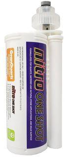 Nitro One Shot Adhesive 873 White North with 2 Tips