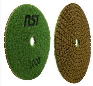 "NSI 4"" REDEEMER RESIN PAD - 1000 GRIT"