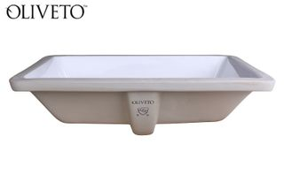 Oliveto Porcelain Undermount Sinks