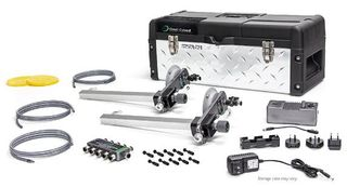 """Omni Cubed Miter-It Auto, Electric 2 Clamp Set With Case, 5"""" Cups"""