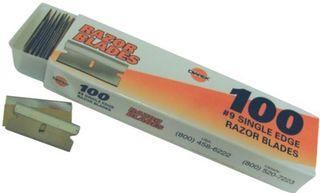 Diarex Pro Series Razor Blades #9, 100 Pack, 50 pack per case
