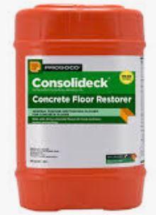 Prosoco Consolideck Concrete Floor Restorer, 5 Gallon