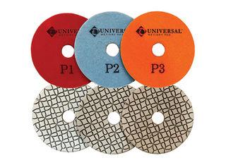 Pulsar Universal 3-Step Wet/Dry Diamond Polishing Pads