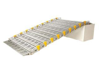 "Roll-A-Ramp 10' Length, HD 36"" Wide, 1400 lb Capacity"
