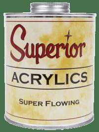 Superior Acrylic Super Flowing, Quart