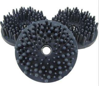"5"" Tenax Airflex Snail Lock Antiquing Brush, 800 Grit LUX"
