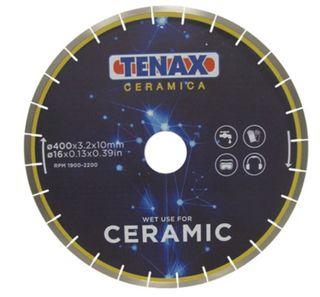 """TENAX CERAMIC TILE BLADE 14""""  60/50 ARBOR"""