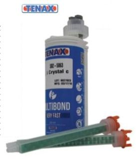 TENAX MULTIBOND 250 ML 10:1 MIXING TIP, W/ORANGE CAP