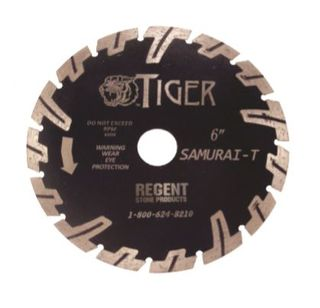 "Tiger Series Samurai T-Shape Blade, 6"""