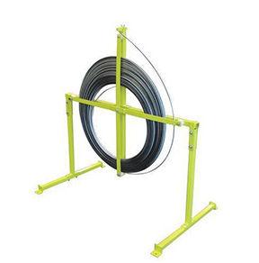 Weha Yellow Fiberglass Rodding Stand & Spools