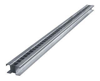 """Xtreme Slab Rack Base Rail, No Rubber, 118""""L, Single Rail"""