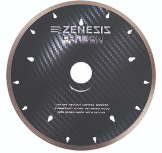 "Zenesis Black Carbon Bridge Saw Blade 14"" UCS 60/50mm"