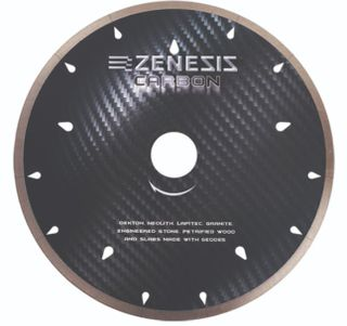 "Zenesis Black Carbon Bridge Saw Blade 16"" UCS 60/50mm"