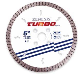 "ZENESIS WHITE TURBO  5"" 8MM SEG 7/8 X 5/8 X 20MM"