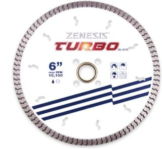 "ZENESIS WHITE TURBO  6"" 8MM SEG 7/8 X 5/8 X 20MM"