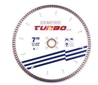 "ZENESIS WHITE TURBO  7"" 8MM SEG DKO X 5/8"