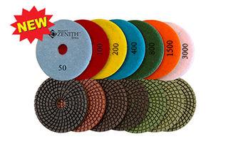 Zenith Spiral 7-Step Wet Polishing Pads