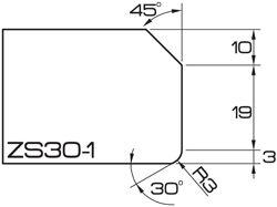 ADI UHS Profile ZS30-1 3cm 80 Series CNC Profile Wheels